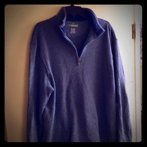 Haggar In Motion 1/4 zip up sweater